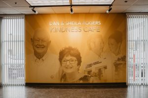 Interior of Dan and Sheila Rogers Kindness Cafe