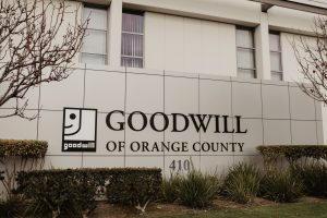 exterior view of goodwill of orange country building