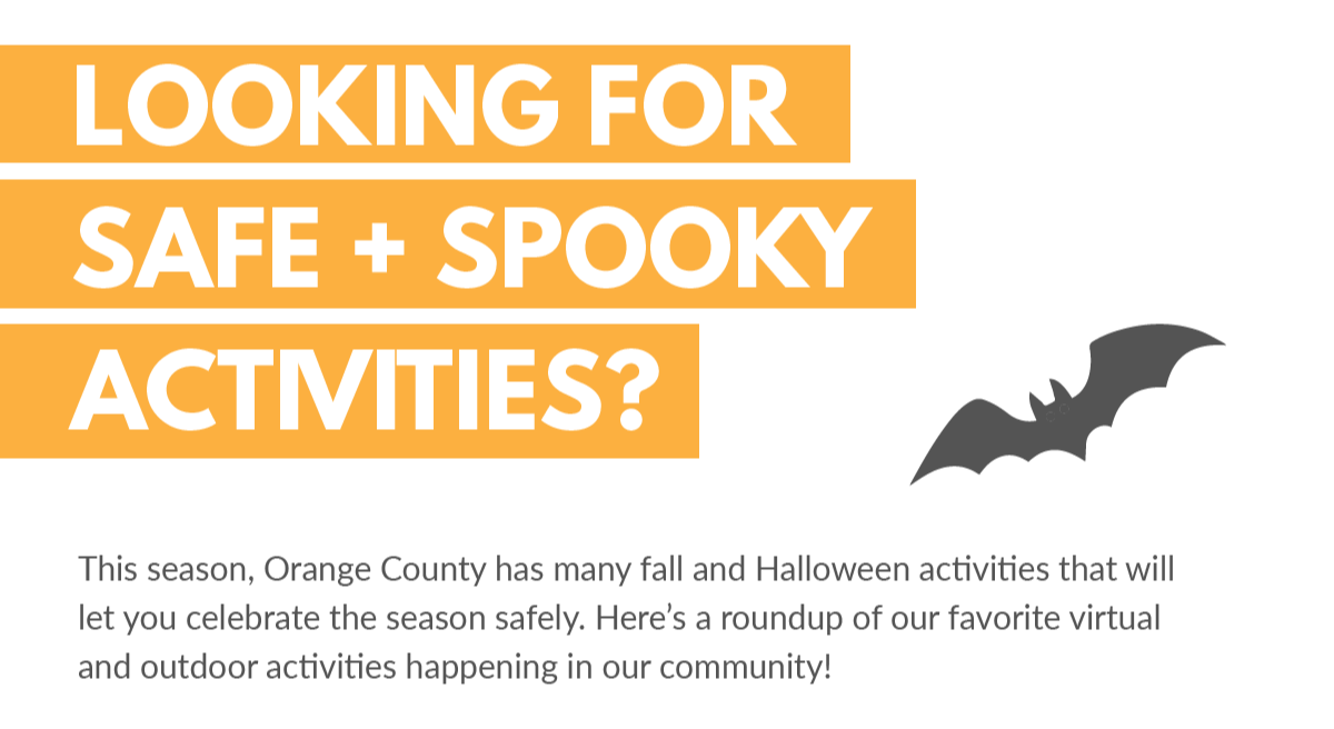 Looking for safe spooky activities