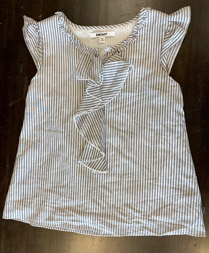 Striped spring blouses
